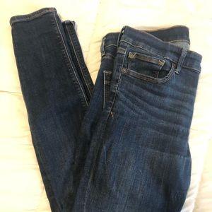 Express Jean leggings size 10 R dark wash